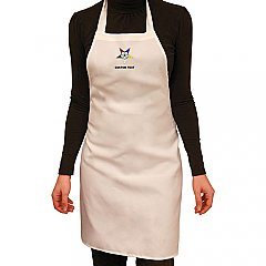 Embroidered Kitchen Apron