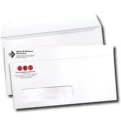 Custom Printed Business Envelopes (Box of 500)
