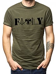 Mens - Masonic Family T-Shirt
