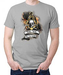 Skull and Square Masonic T-Shirt