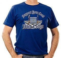 Mens - Support Your Local Blue Lodge T-Shirt