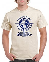 Mens - Globe Worldwide Brotherhood T-Shirt
