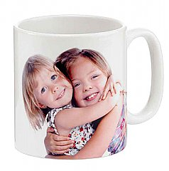 11oz Ceramic Sublimation Full Color Printed Coffee Mug